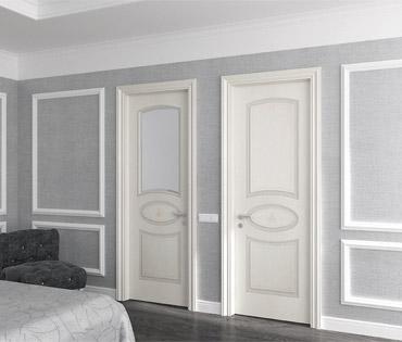 белые межкомнатные двери виды изысканных изделий и